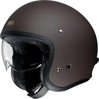 SHOEI J/O [Matte Brown] Helmet