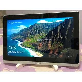 Acer W700 i5-3337u DDR3 4GB, 128SSD FHD 11.6 inch tablet 90% new (fully functional)