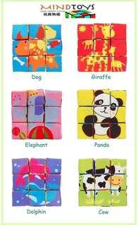 Soft Educational Puzzle Block (Animals)