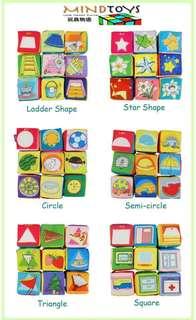 Soft Educational Puzzle Block (Shape)