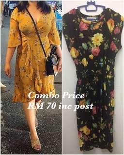 Inspired Zara+ Floral Dress