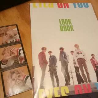 GOT7 LOOK BOOK AND STICKER