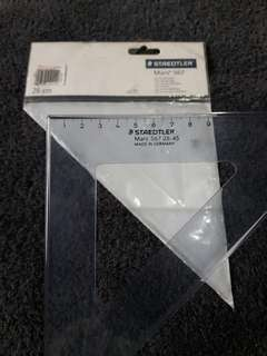 Staedtler 45° triangle ruler