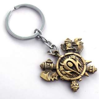 ($2 ONLY!!) WORLD OF WARCRAFT ORCISH KEY CHAIN KEYCHAIN WOW