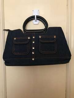 Ladies' Handbag -Denim