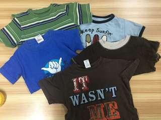 5 pcs Boys Tshirt take all