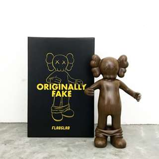 OriginallyFake - Woody  by FLABSLAB 全新未使用(非KAWS,Nara,村上隆,奈良美智,草間彌生)