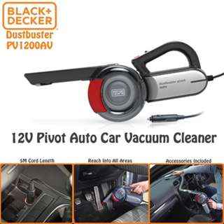 Black + Decker Pivot Auto Car Vacuum Cleaner