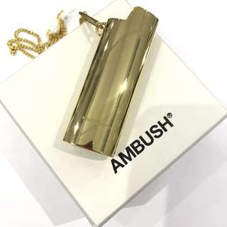 日本潮牌AMBUSH 火機款頸鏈