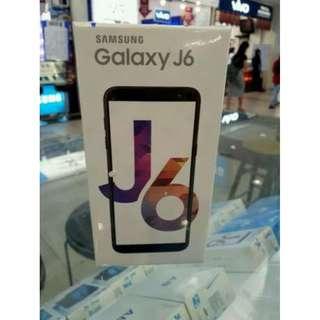 Samsung Galaxy J6 2018 Bunga 0% Dp Mulai 15% Free 1x Angsuran Bebas Admin