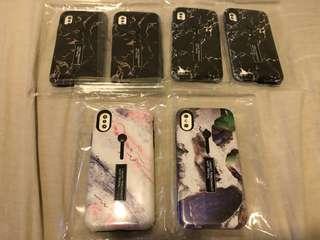 IPhoneX雲石支架手機殻 每個$66(包平郵)