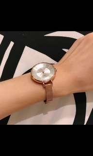 🚚 🇰🇷韓國 正品Staccato簡約玫瑰金手錶
