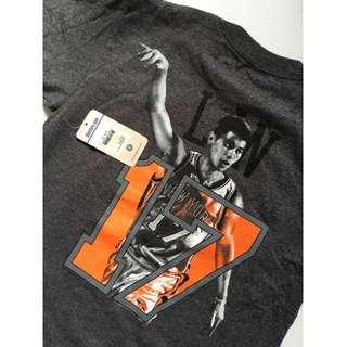 NBA 林書豪 New York 17 短袖T-shirt 兒童尺碼M號 全新未使用