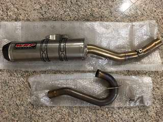 WRP exhaust WR400F