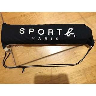 (全新) Agnes.b Sport b系列 恐龍毛絨止滑地墊 含收納袋 專櫃 地毯 地墊 墊子 防滑墊