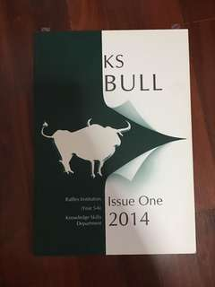 KS BULL Issue One 2014