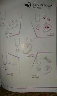 Kid's Jewelry set