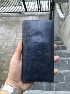 Gianni Versace MEDUSA Long Leather Wallet Bifold Italy AUTHENTIC