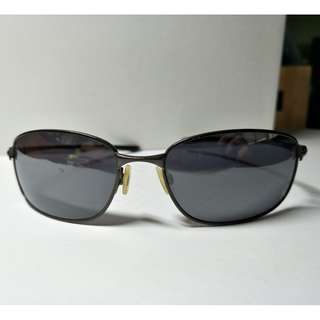 [含運出清] Oo4074-01  進口 太陽眼鏡 抗UV 墨鏡  Sunglasses Cement W/black Iridium Lens