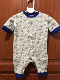 UNIQLO Baby (Newborn) Long Sleeve One Piece Outfit