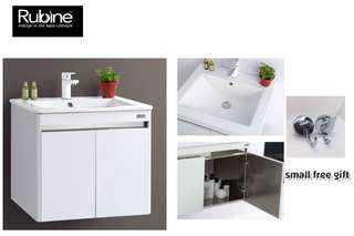 Rubine Basin Cabinet