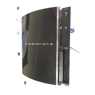PS3 YLOD Launch 60GB Japan (Faulty)