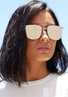 Brand New Quay Australia Private Eyes Sunglasses in Rose
