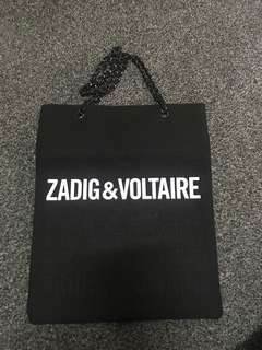Zadig&Voltaire tote bag RM20