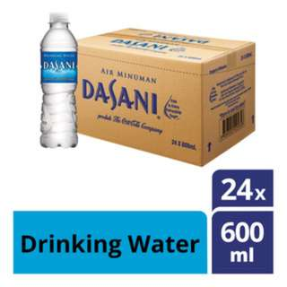 Dasani Mineral Water - PET (24 x 600ML)