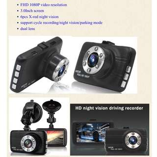 Car dashcam dual camera FHD1080P