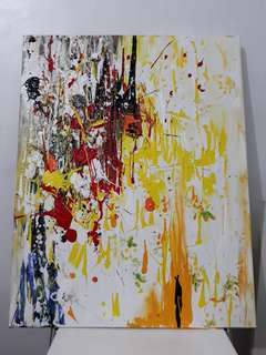 """""""Yellow"""" for Chris (SOLD)"""
