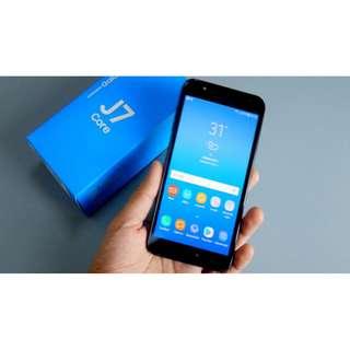 Samsung Galaxy J7 Core Bunga 0% Dp Mulai 15% Free 1x Angsuran Bebas Admin