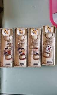 韓國鎖匙扣連開瓶器
