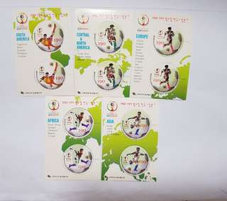 FIFA Postage Stamps