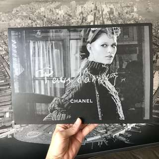 Chanel Metiers D'art Paris Hamburg Pre fall collection coffee table poster book
