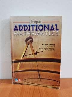 Panpac Additional Mathematics by Ho Soo Thong and Khor Nyak Hiong