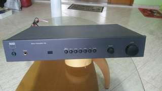 NAD Preamplifier  116 (IN GOOD WORKING CONDITION )