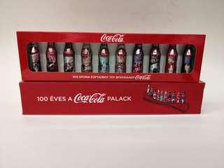 Coca cola羅馬尼亞可口可樂瓶一百周年迷你紀念鋁樽