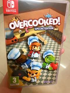 Nintendo switch :Overcooked