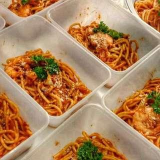 Open House / Menu Bajet / Spaghetti