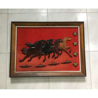 Woodcraft horse art