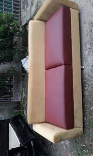 Sofa jumbo sale .semi kulit