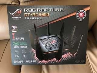 全新ROG Rapture GT-AC5300 三頻Gigabit無線電競路由器Router