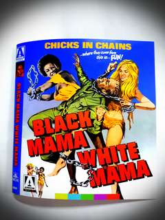 Black Mama White Mama Bluray (imported)(used)(very good condition)Region A