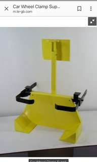 Clamper tyre