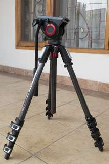 Tripod & Head Manfrotto