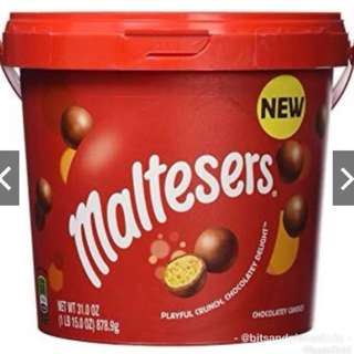Maltesers Big Tub Limited Edition Party TUB BUCKET