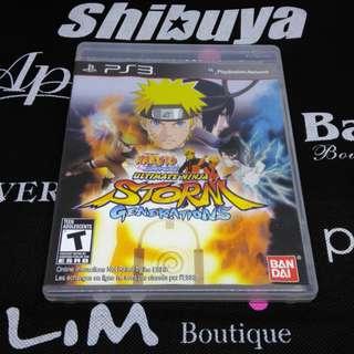 PS3 Game Naruto Shippuden: Ultimate Ninja Storm Generations