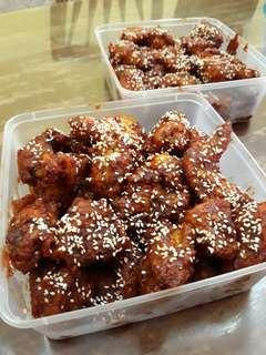 Spicy Korean Fried Chicken Whole Chicken