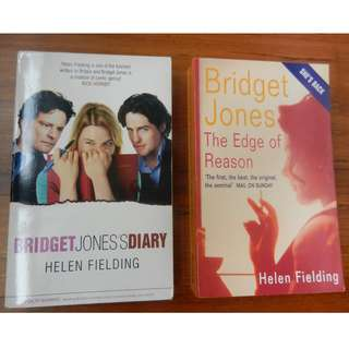 'Bridget Jones's Diary' and 'Bridget Jones: The Edge of Reason' by Helen Fielding